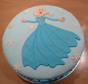 Elsa uit Frozen