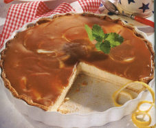 Toffee-cheesecake