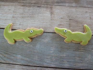 Krokodillen koekjes