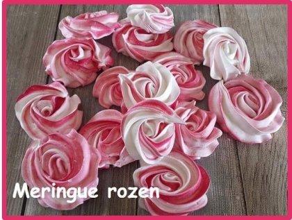 Meringue rozen