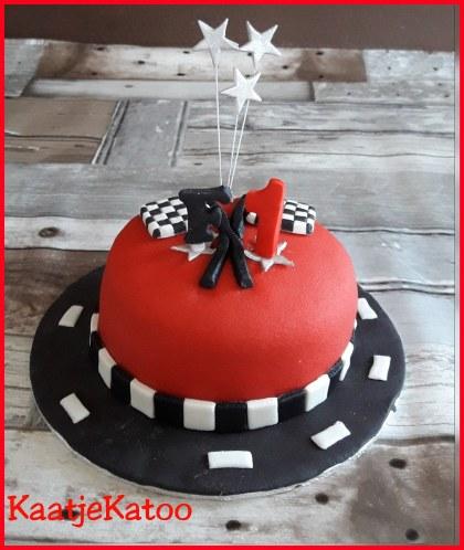 F! taart voor Mike