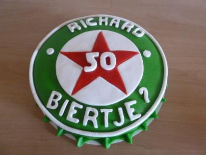 Heineketaart 50 jaa