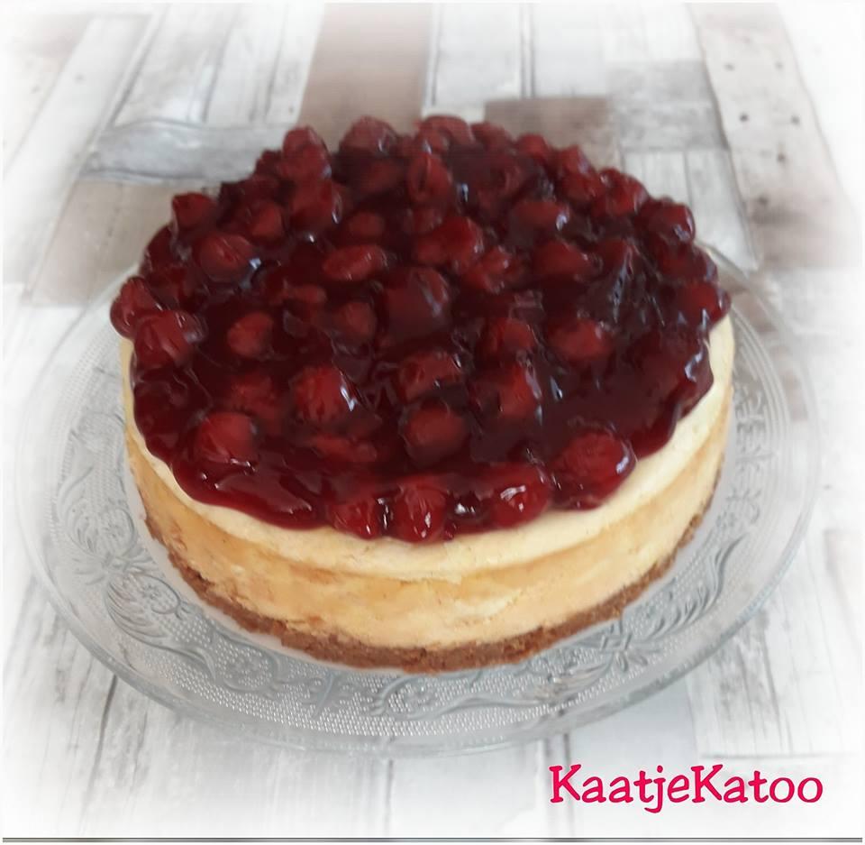 Kersen_ witte chocolade cheesecake