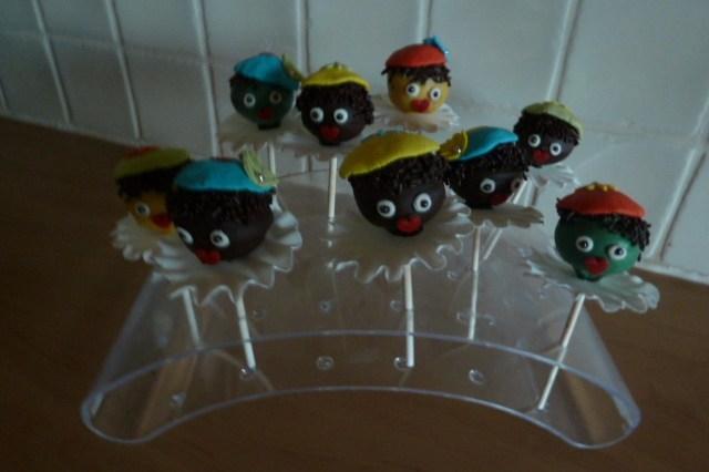 Cakepop zwarte pietjes